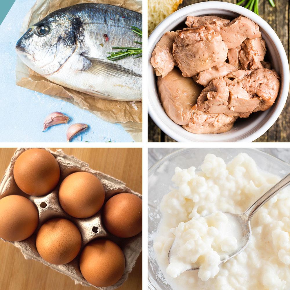 Alimentos que ayudan a mantener alto el nivel de vitamina D